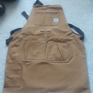 Work apron with logo